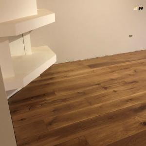 Geschuurde houten vloer